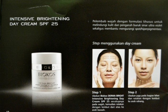 Derma Bright Day & Night Cream / Paket Biokos Derma Bright