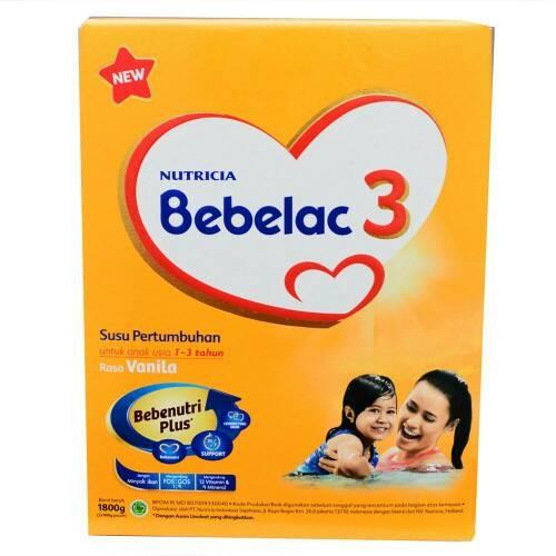 harga Bebelac 3 vanila 1800gram murah Tokopedia.com