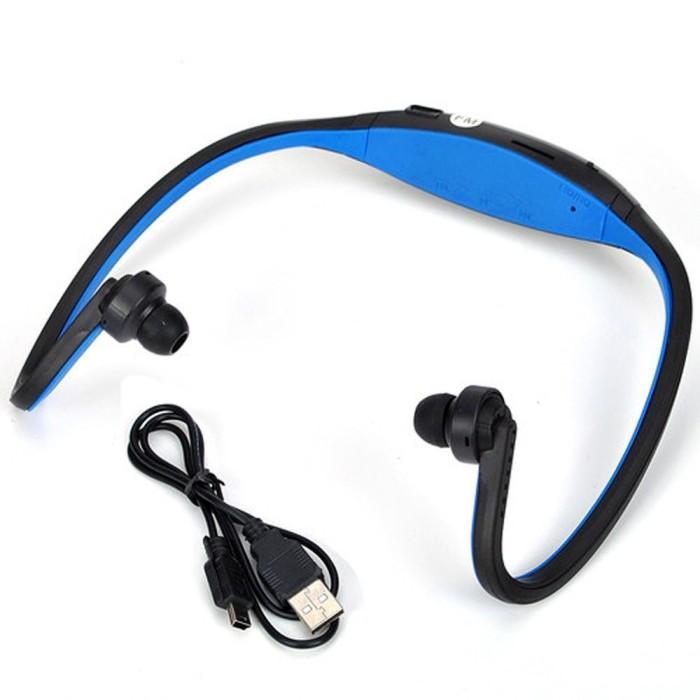 harga Sports wireless bluetooth headset | bth-404 | mp3 sport earphone radio Tokopedia.com
