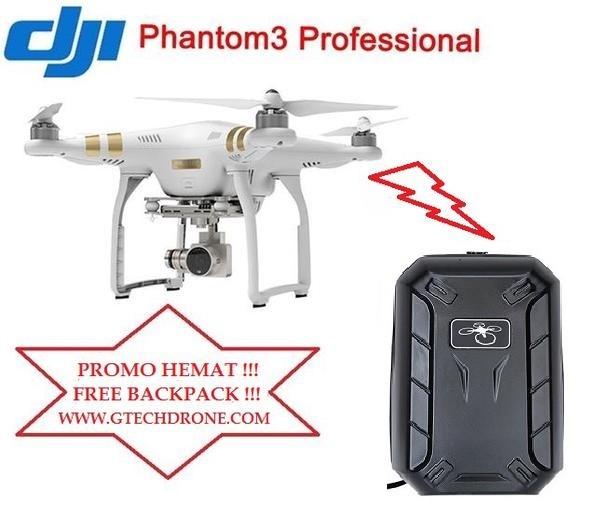 harga Free backpack !!! dji phantom 3 professional Tokopedia.com