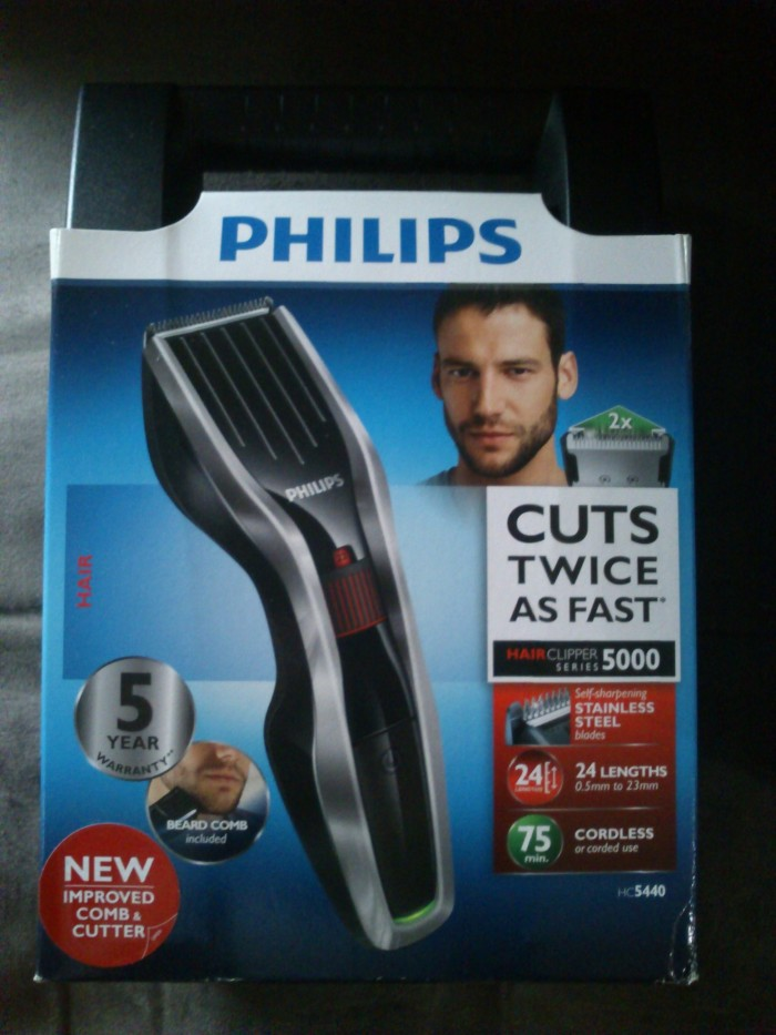 Jual Philips Hair Clipper HC5440 Alat Cukur Rambut HC 5440 Cordless ... 0ab5ff55d8