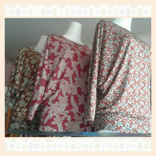 harga Atasan/baju/kaos/blouse batwing model kalong Tokopedia.com