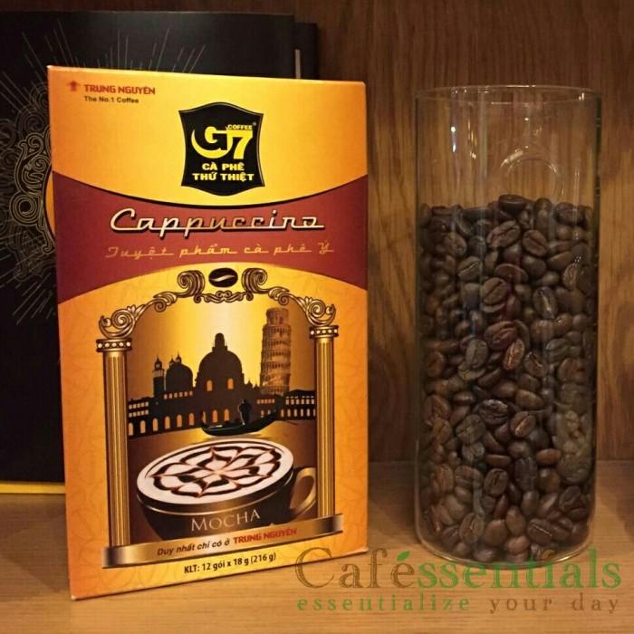 harga Trung Nguyen G7 Mocha Cappuccino Kopi Vietnam Kopi Moka Instan 12x18gr Tokopedia.com