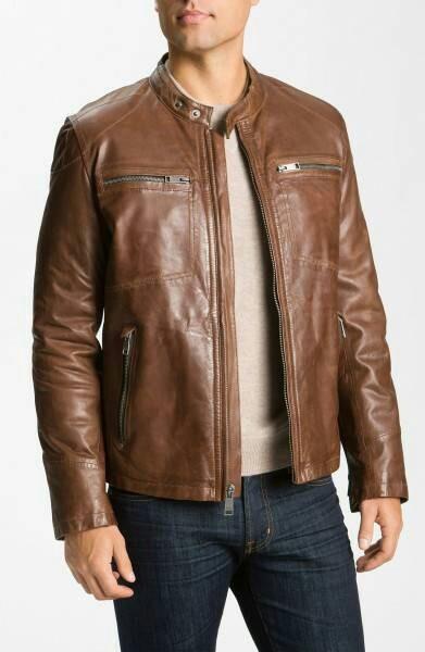 harga Jaket pria kulit asli domba jmc leather jk-20 Tokopedia.com