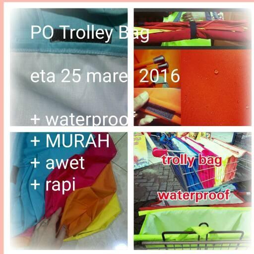 SUPERMARKET TROLLEY BAGS / SHOPPING BAGS / TAS BELANJA