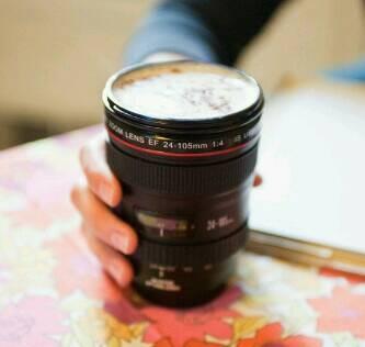 harga Gelas lensa kamera stainless putih coffee glass Tokopedia.com