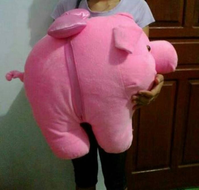 harga Boneka babi /pig/piglet jumbo /besar Tokopedia.com