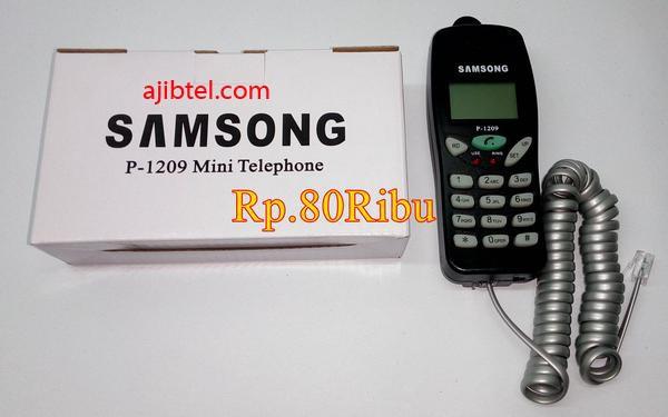 harga Samsong mini telepon p-1209, pesawat telpon analog Tokopedia.com