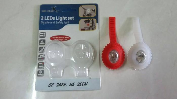 harga Lampu silikon 2 leds damo Tokopedia.com