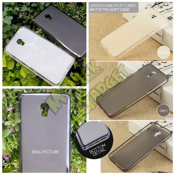harga Jual soft case matte tpu lenovo vibe p1 turbo murah Tokopedia.com