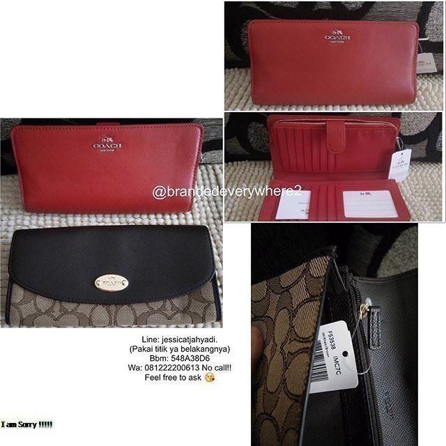 new products b6aa5 63eb0 Jual Dompet Coach - Kota Bandung - brandedeverywhere2 | Tokopedia
