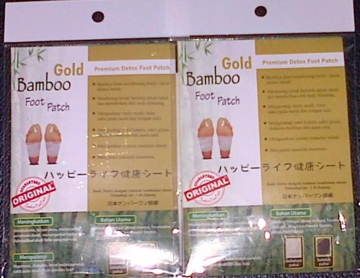 Koyo Kaki Bamboo Gold Original -Bambo Foot Path Detox Premium 100% ORI