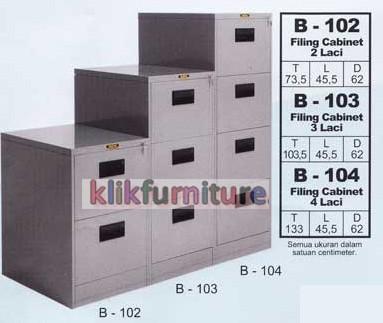 harga B 104 brother filling cabinet besi kantor Tokopedia.com