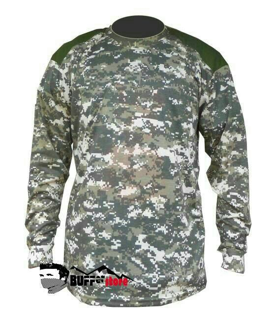 Foto Produk Kaos army panjang camo military (perbakin,tni,kopasus) dari zazoulstore