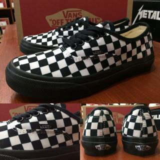 Jual Sepatu Vans Authentic Checkerboard White Black Original Premium ... 1e4604b53