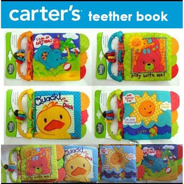 Jual Teether Book Carter Buku Bantal Bayi - A3 Family  271c718001
