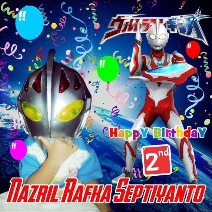 Spanduk Banner Ultah Ultraman