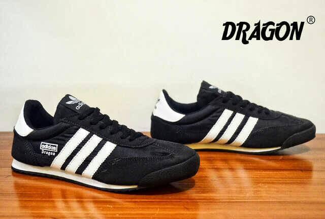 Sepatu jogging pria casual santai sport adidas dragon men ce29dc751d