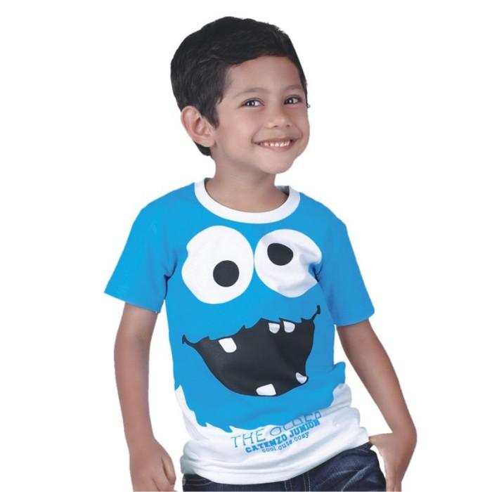 Jual Kaos Anak Laki Laki Cotton Biru Gambar Kartun Cps 007 Kota Bandung Bumi Fesyen Tokopedia