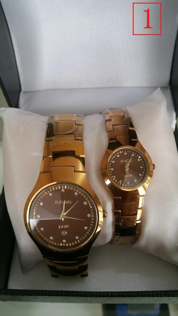 harga Jam Tangan Couple Rado Watches One Pair Of Lovers Couple 6028 Tokopedia.com