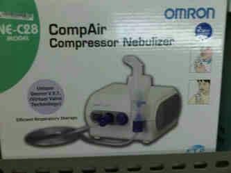harga Alat Uap Nebulizer Compressor Omron Ne C28 Tokopedia.com