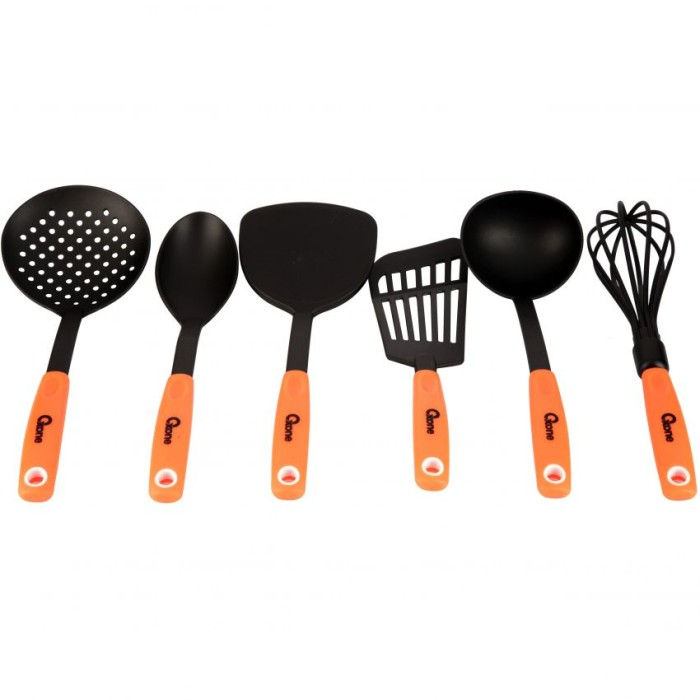 Oxone OX-953 Orange Kitchen Tools Nylon | Spatula Sutil Nilon OX953