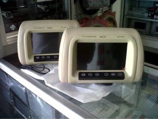 harga Tv monitor headrest layar 7 inci merk hollywood/tv sandaran kepala Tokopedia.com