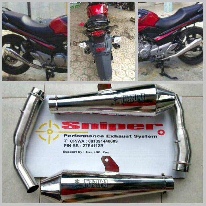 harga Knalpot suzuki inazuma inazuma250 slip on japstyle full stainless Tokopedia.com