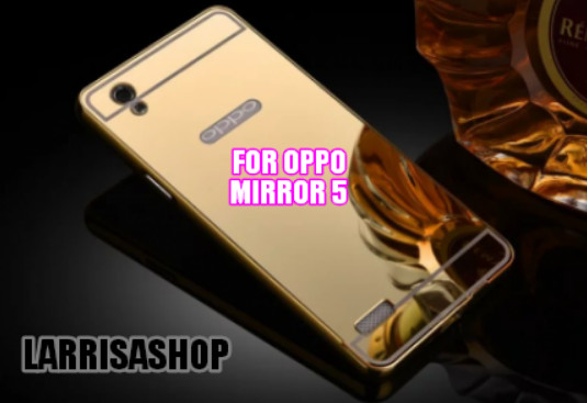 Jual Aluminum Metal Bumper Case Mirror Cover Oppo Mirror 5