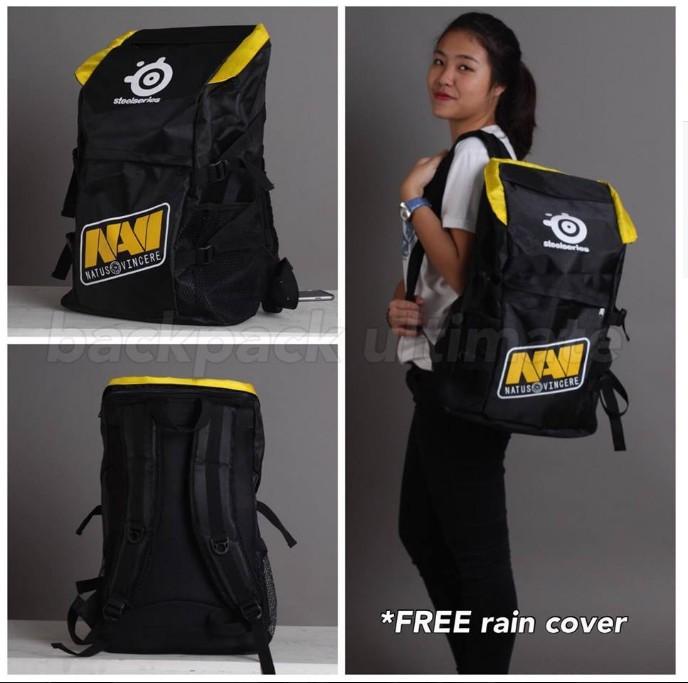 harga Gaming bag tas gamers backpack ultimate 2016 navi Tokopedia.com