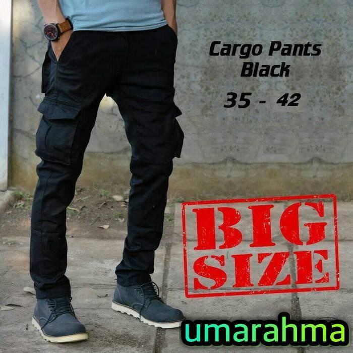 Foto Produk celana cargo panjang big size   celana out door dari umarahma