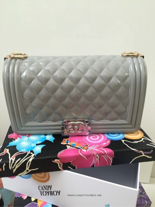 4bf16dcd5f2f Jual Toyboy Jelly - I'm Not Chanel - Gold Chain - Fashion Bag Import ...