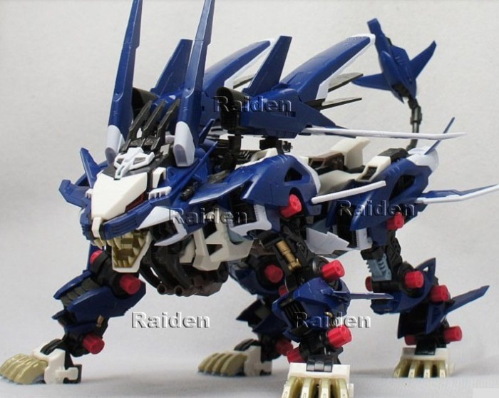 harga Zoid liger zero jager blue 1/72 zoids 030 robot singa blade wolf ligar Tokopedia.com
