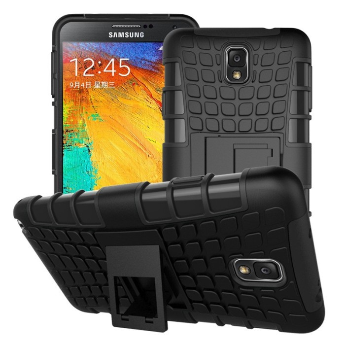 harga Samsung galaxy note 3 rugged armor case cover armor with stand Tokopedia.com