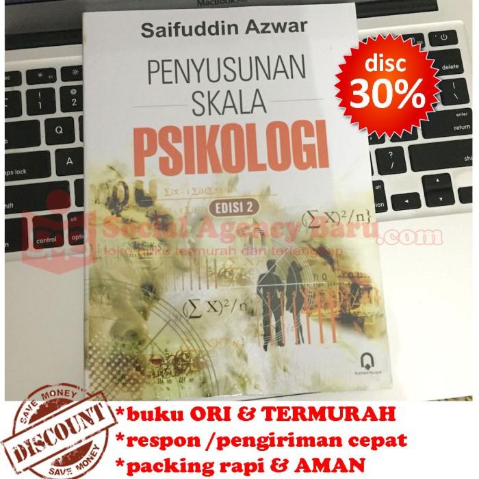 harga Penyusunan skala psikologi - saifuddin azwar Tokopedia.com