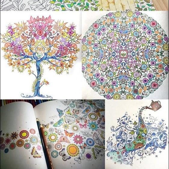 Secret Garden Coloring Book Original KBS Korean Version