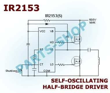 Jual IR2153s SMD IR2153 SELF-OSCILLATING HALF-BRIDGE DRIVER MOSFET IGBT -  Kota Semarang - parts-shop | Tokopedia