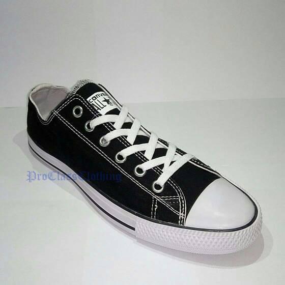 de97887804d2 Jual Sepatu Converse All Star Low Cut Black White +Box Converse ...