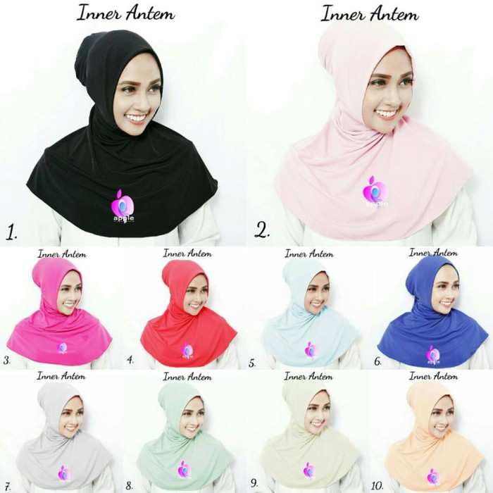 harga Inner ninja antem by apple hijab Tokopedia.com