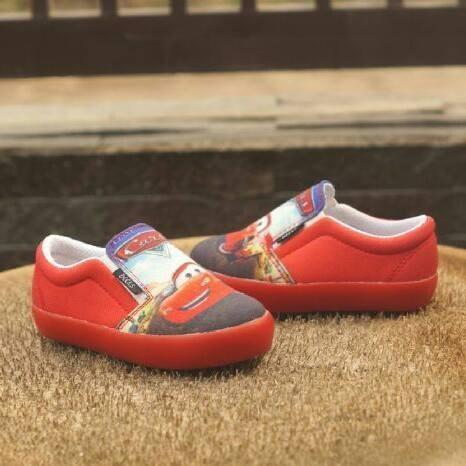 harga Sepatu anak decks karakter cars merah Tokopedia.com