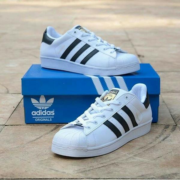harga Adidas superstar casual pria dan wanita Tokopedia.com