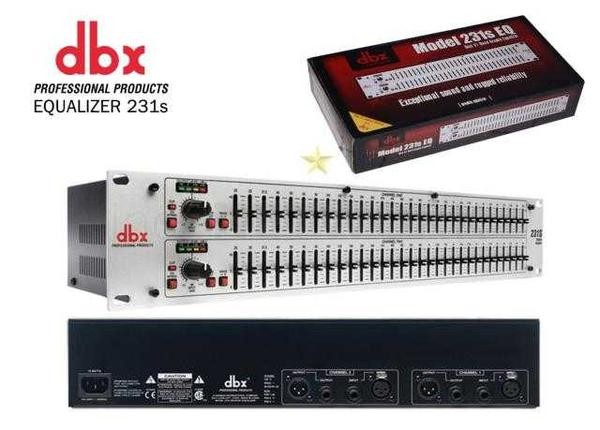 harga Equalizer eq dbx 231 xs silver edition   stereo 2 x 31 band Tokopedia.com