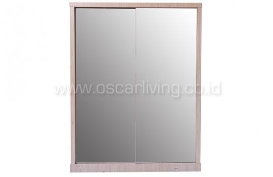harga Lemari pakaian orlando 2 sliding door full mirror Tokopedia.com
