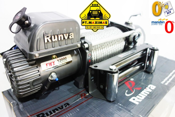 harga Runva electric winch ewx-12000 (54 ton) Tokopedia.com
