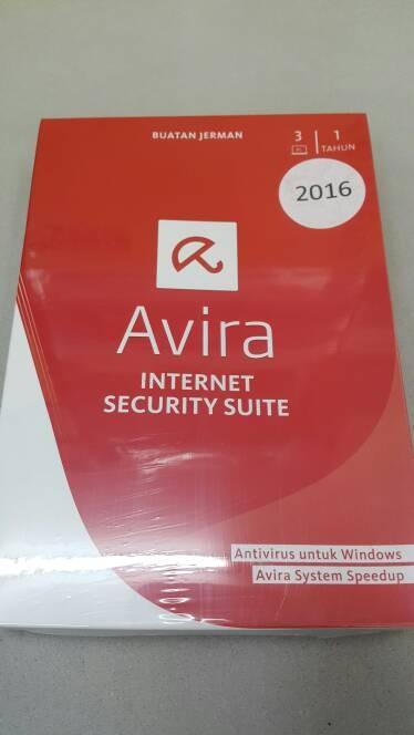 harga Antivirus avira internet security suite 3 user 1 tahun Tokopedia.com