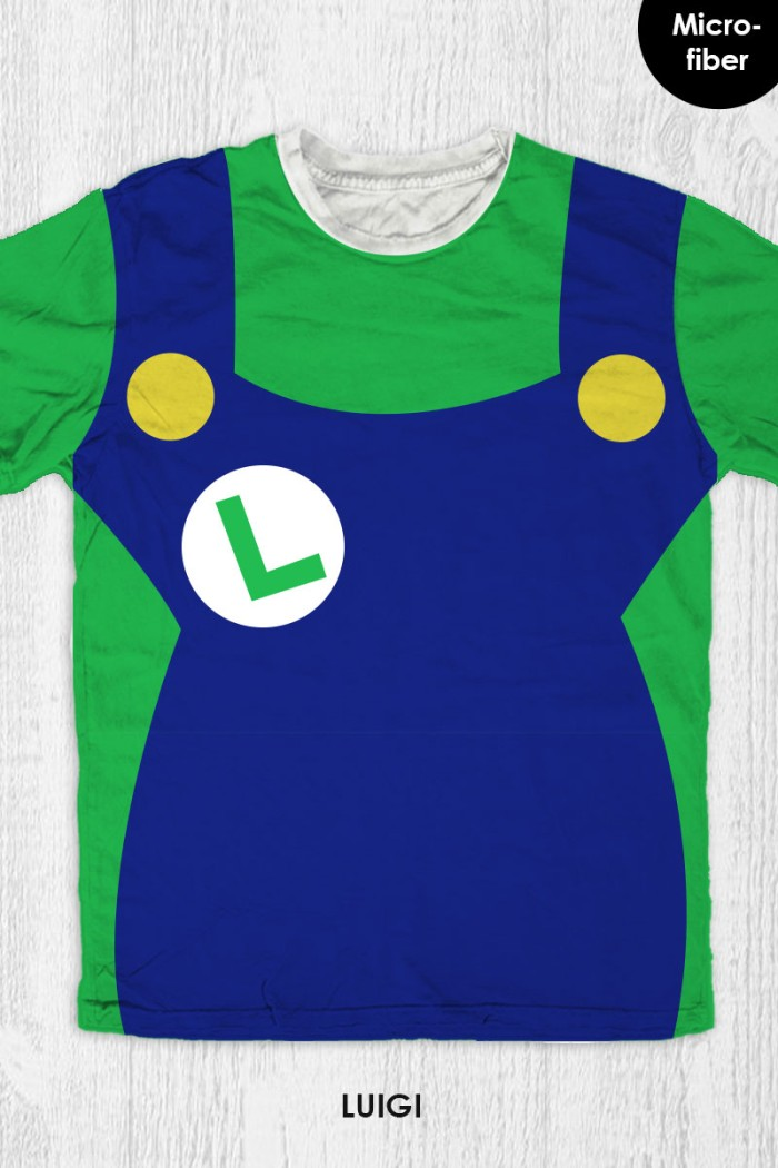 harga Kaos super mario bros anak / dewasa - luigi costume Tokopedia.com