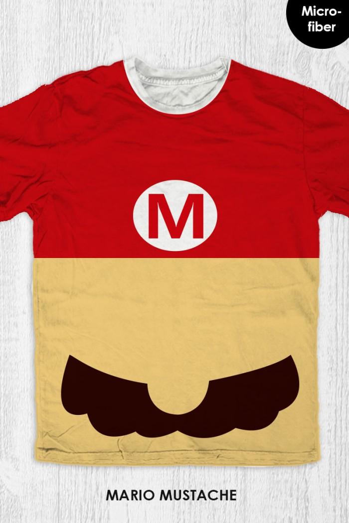 harga Kaos super mario bros anak / dewasa - mario mustache Tokopedia.com