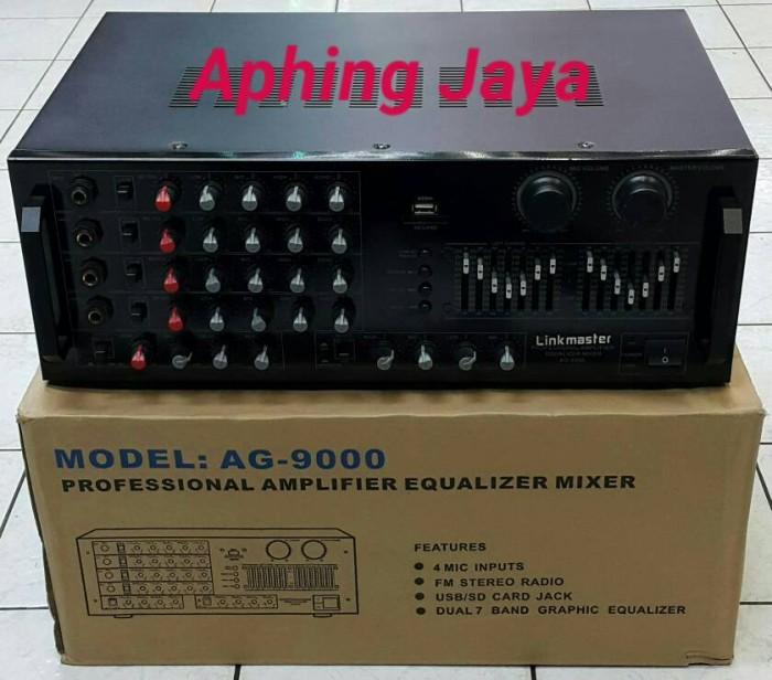 harga Digital professional amplifier equalizer mixer fm stereo radio ag-9000 Tokopedia.com