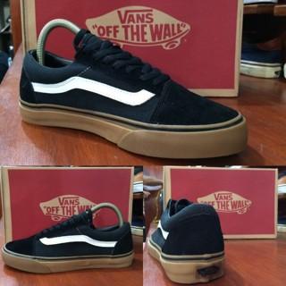 Jual Sepatu vans oldskool black gum original premium quality waffle ... f58bf3a73e