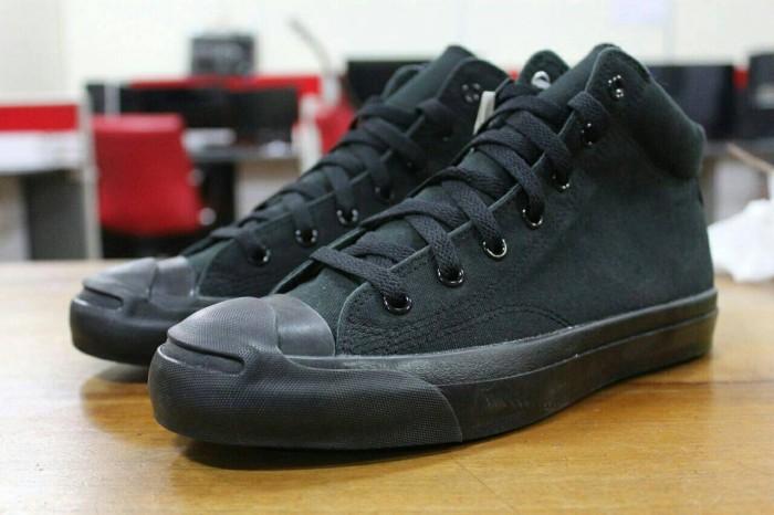 bcd775c19db651 Jual Converse Jack Purcell mid all black Original - DKI Jakarta ...
